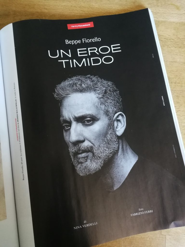 Beppe Fiorello | VanityFair 2019